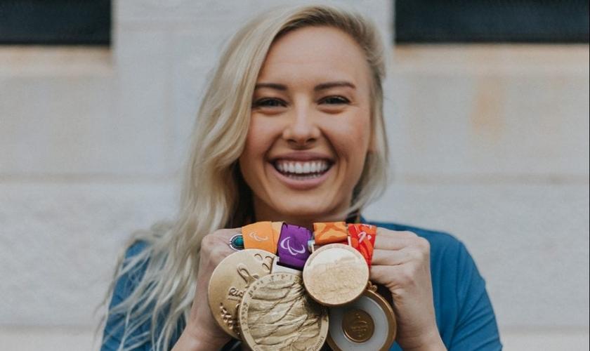 Jessica Long é a segunda paraolímpica mais condecorada da história dos EUA. (Foto: Team Toyota)