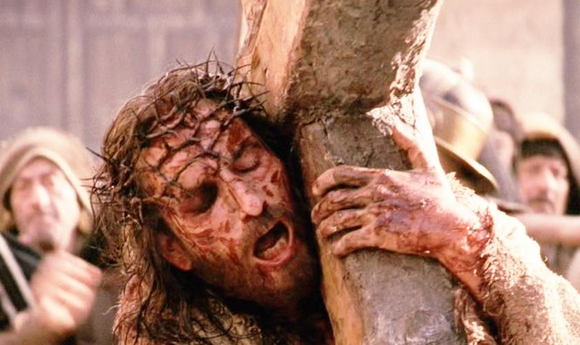 Cena do filme 'A Paixão de Cristo'. (Imagem: Youtube)