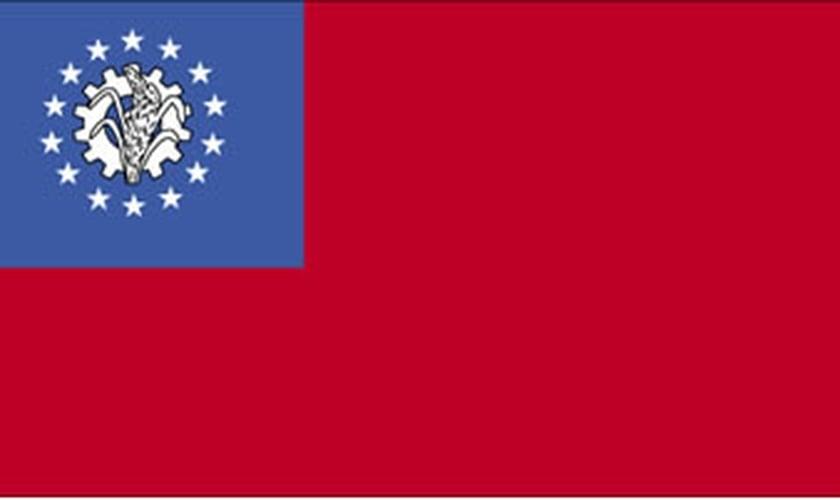 bandeira de Mianmar