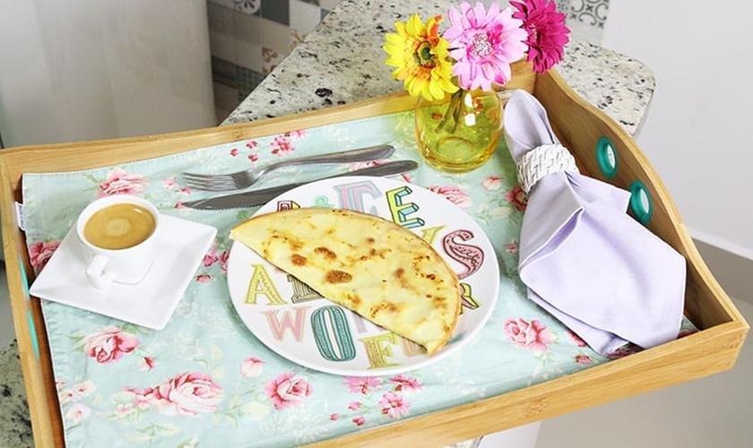 Crepioca (Pão de queijo light)