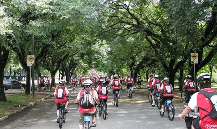 Pedalada Ciclística São Paulo
