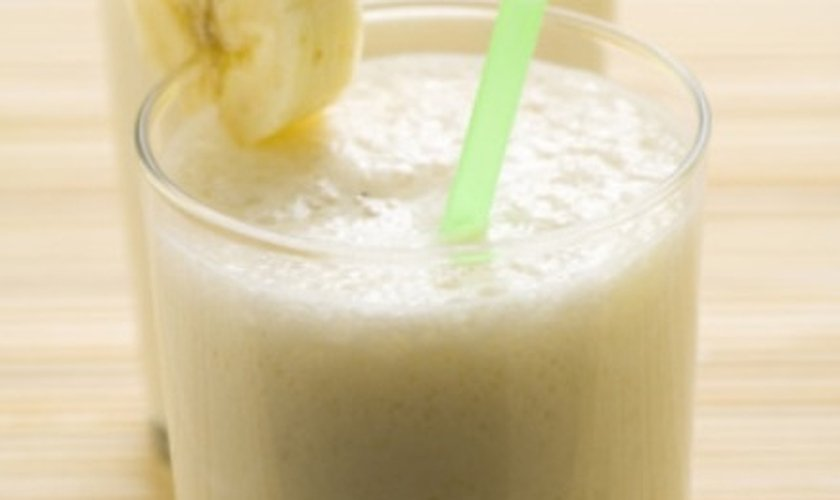 Smoothie banana e melão