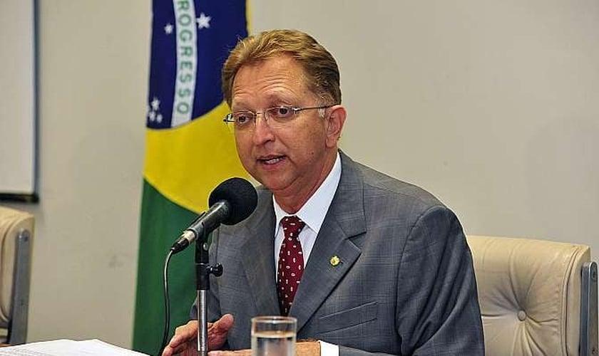 O deputado João Campos (PSDB-GO), eleito por unanimidade presidente da Frente Parlamentar Evangélica do Congresso Nacional. (Foto: Luis Macedo/ Câmara dos Deputados)