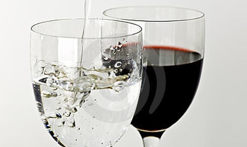 Água e vinho