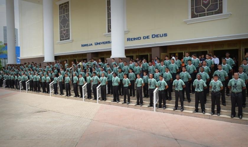 Gladiadores do Altar: projeto com jovens da Igreja Universal do Reino de Deus (IURD). (Facebook/ Gladiadores do Altar Bahia)