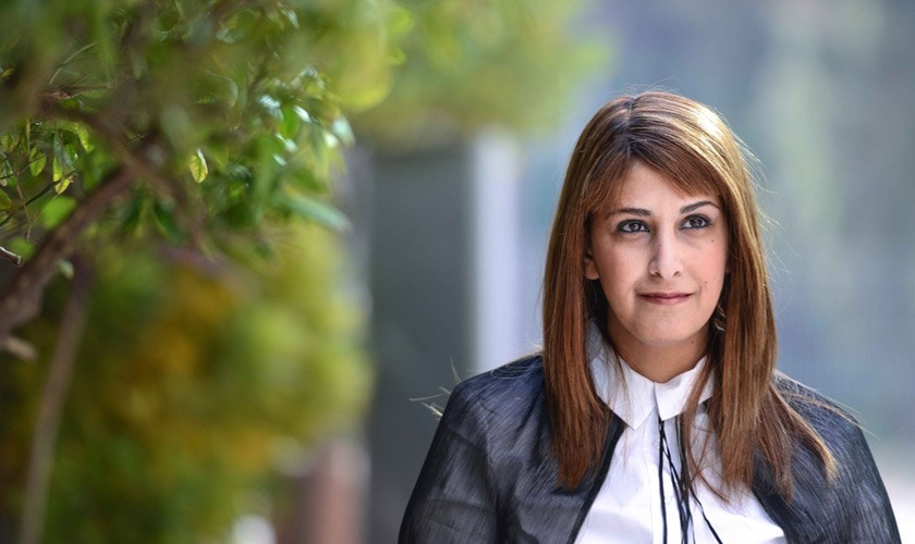 Ruth Colian, uma das candidata haredi do primeiro partido político formado por mulheres em Jerusalém, Israel. (Aviram Valdman / The Tower)