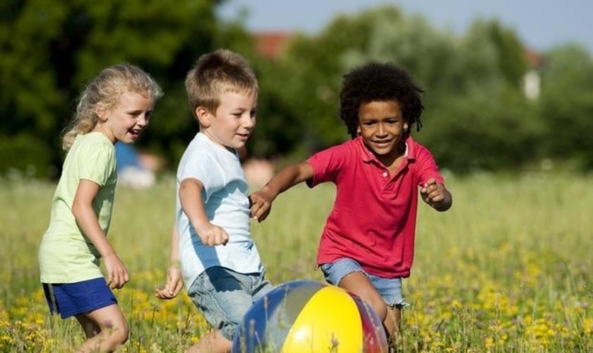 Hábitos saudaveis para as crianças