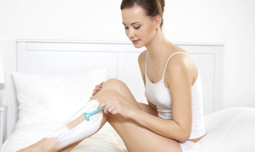 Erros cometidos ao depilar as pernas