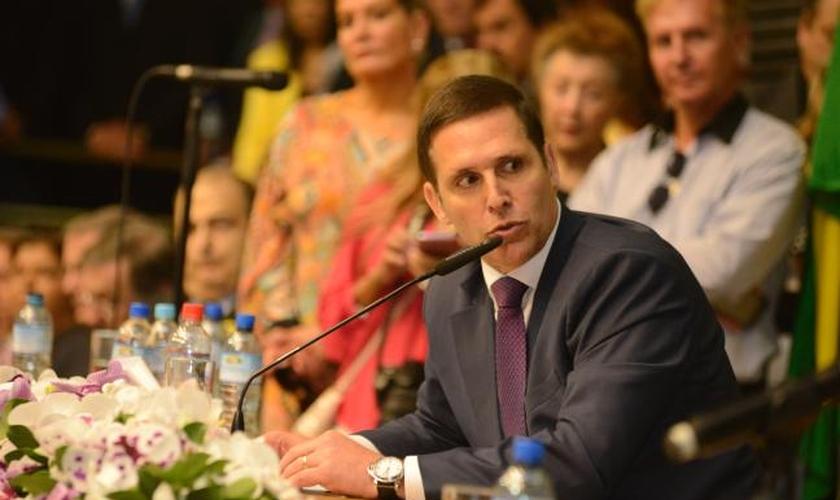 Fernando Capez (PSDB-SP), eleito presidente da Mesa Diretora da Assembleia Legislativa para os próximos 2 anos.