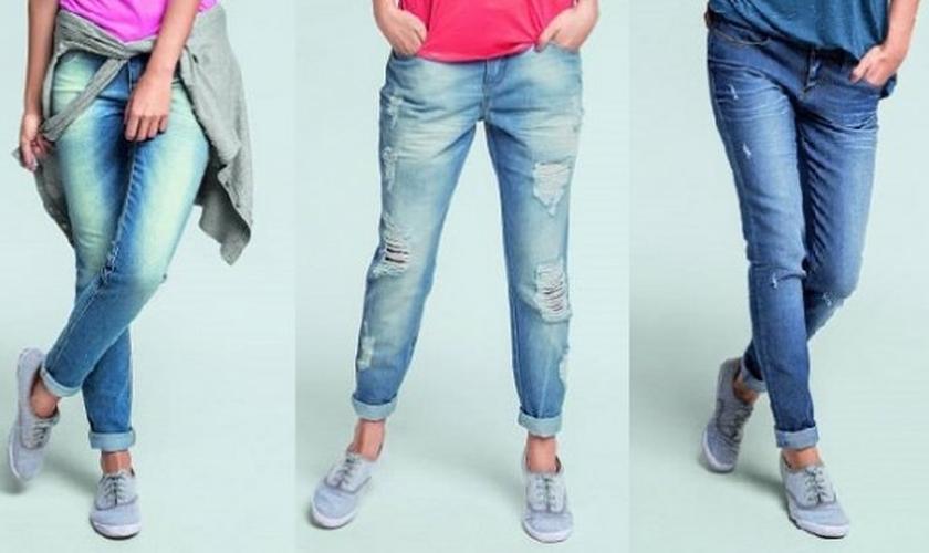 tendência de jeans para o inverno