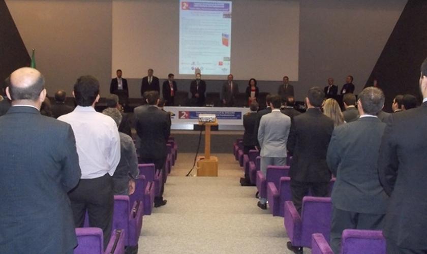 O 2º Congresso Internacional sobre Liberdades Civis Fundamentais contou com cerca de 300 inscritos, além de representantes de diversas entidades cristãs e autoridades do legislativo e judiciário.