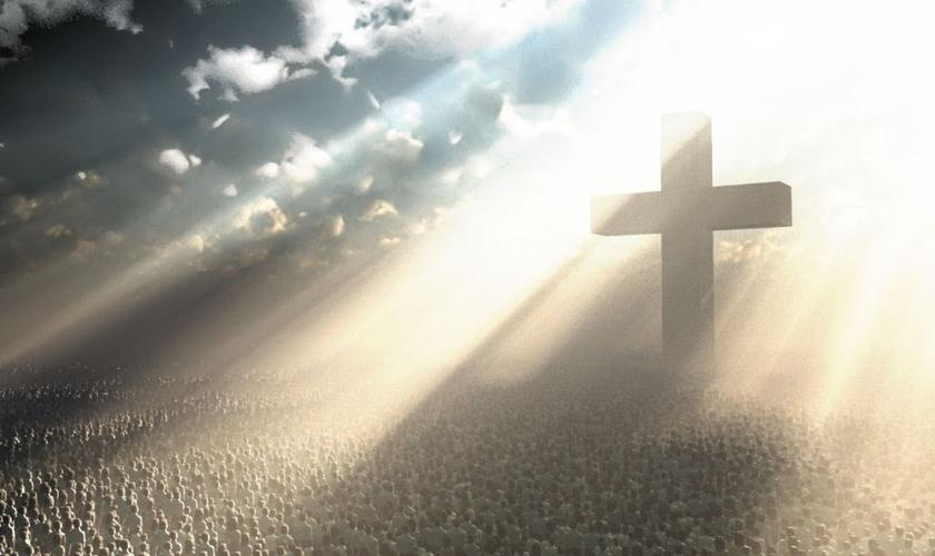 Jesus vive e voltará _ imagem ilustrativa