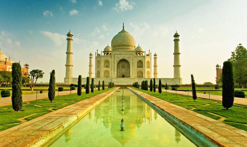 Paisagem da Índia _ imagem ilustrativa