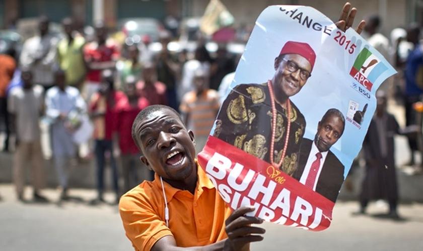 O mais novo presidente da Nigéria, eleito neste final de semana, é Muhammadu Buhari, um muçulmano apoiado por líderes cristãos.