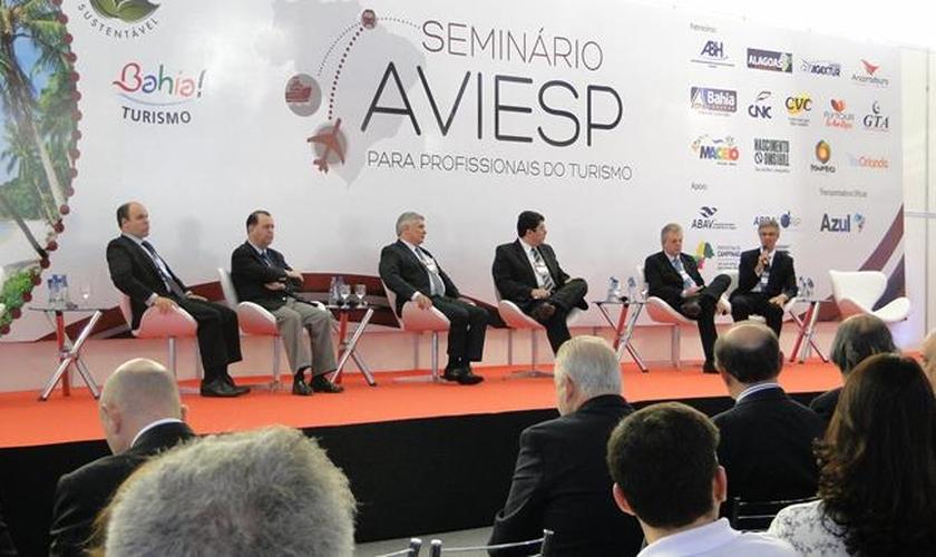 Evento Aviestur em Campinas, na edição de 2014
