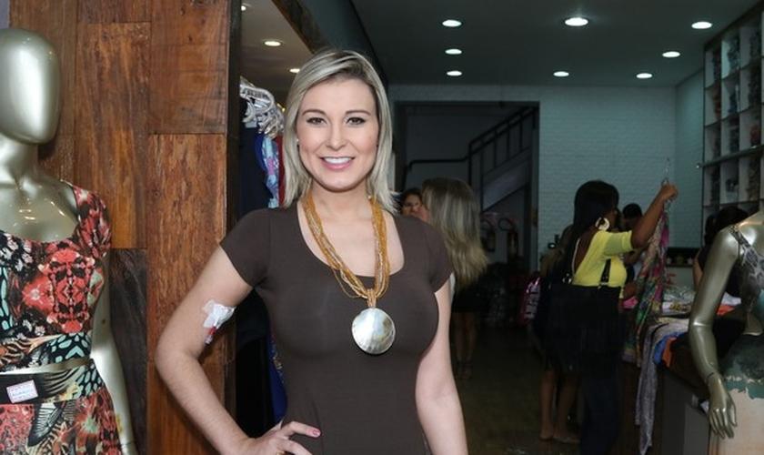 Modelo e apresentadora Andressa Urach. (Thiago Duran / AgNews)