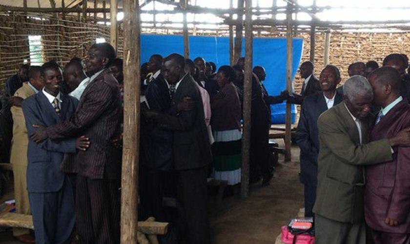 MAIS com pastores em Uganda