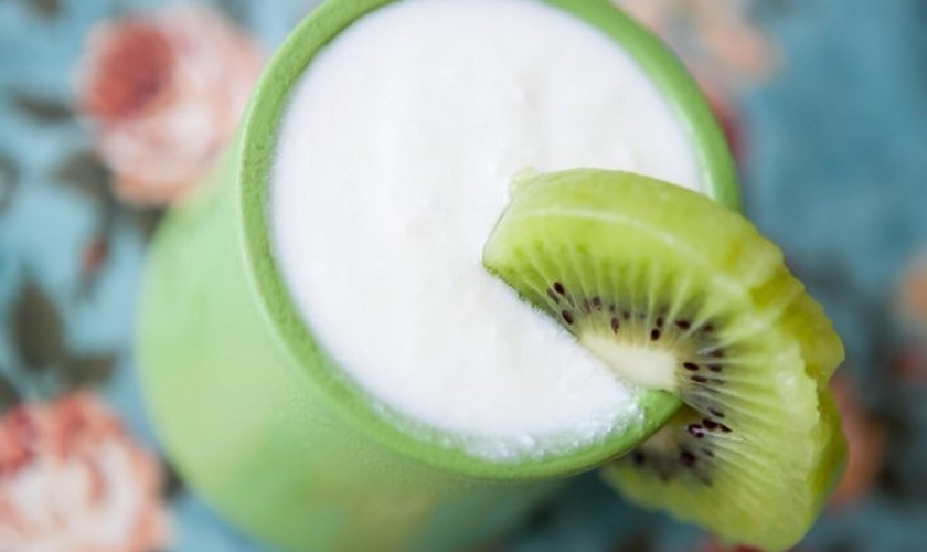 Iogurte natural caseiro