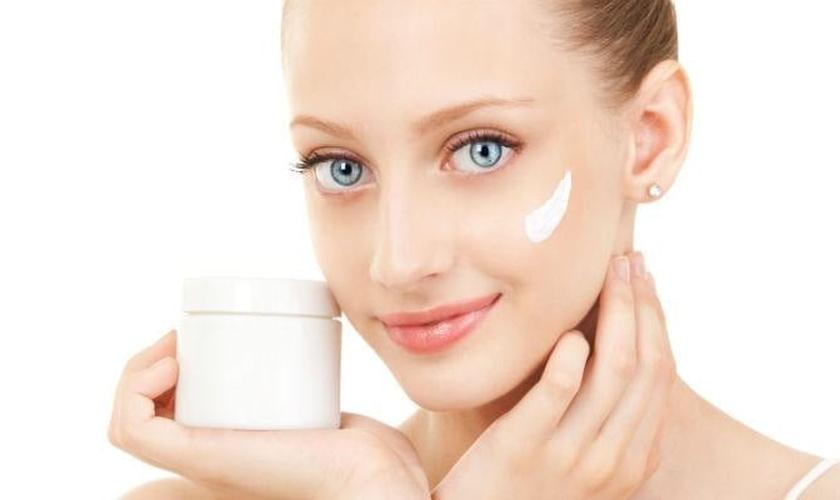 Hidratação pele seca