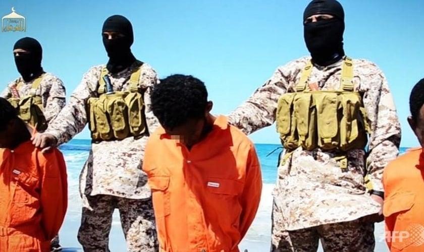 Jamal Rahman estava entre os 28 cristãos etíopes mortos. (