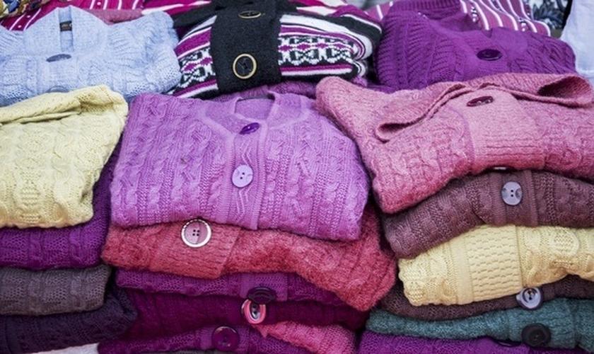 Peças de lã