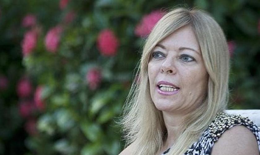 Rosane Collor – que hoje se chama Rosane Malta, oficialmente –, ex de Fernando Collor. (Isto É)