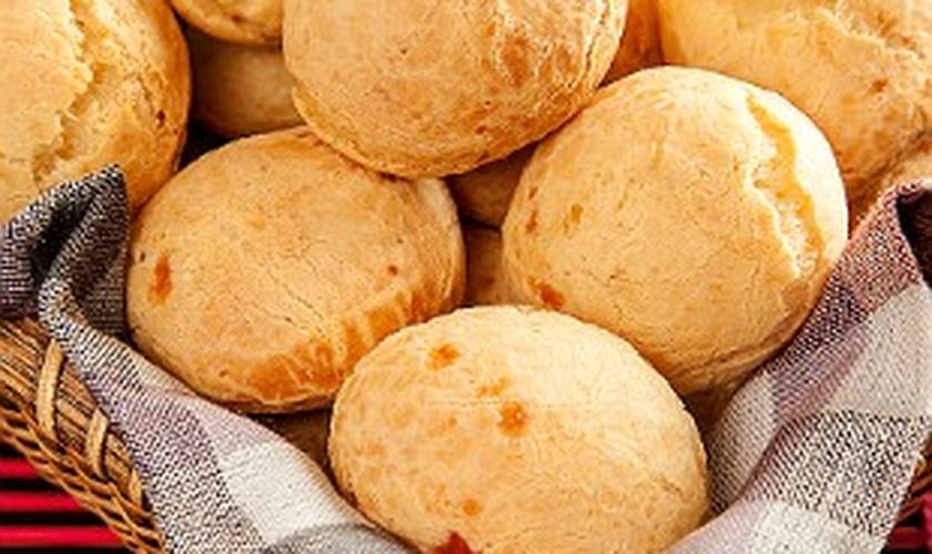 Pão de queijo sem glúten e lactose