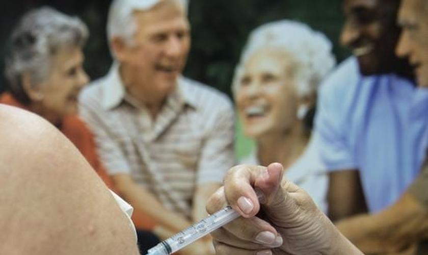 Campanha Municipal de vacinação contra a gripe