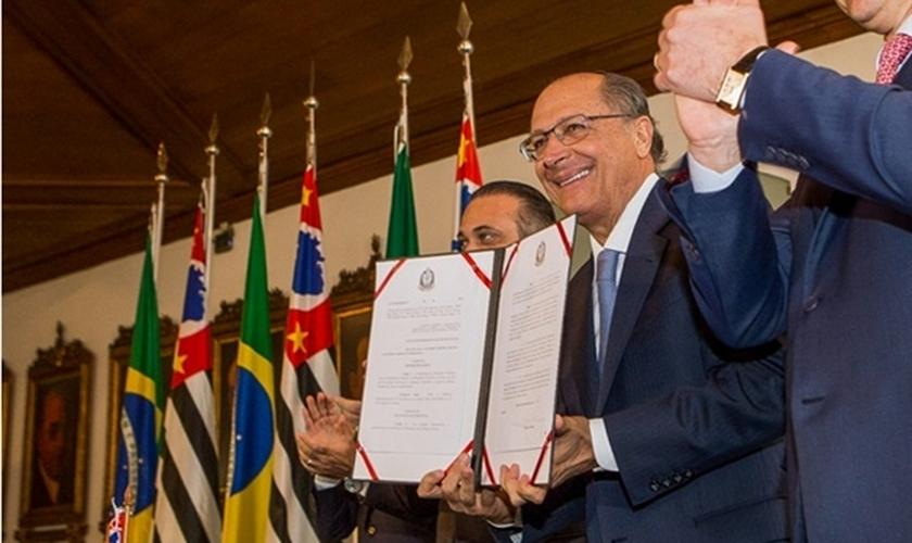 Governador Geral Alckmin no Palácio dos Bandeirantes