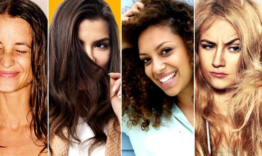 Tipos de cabelos