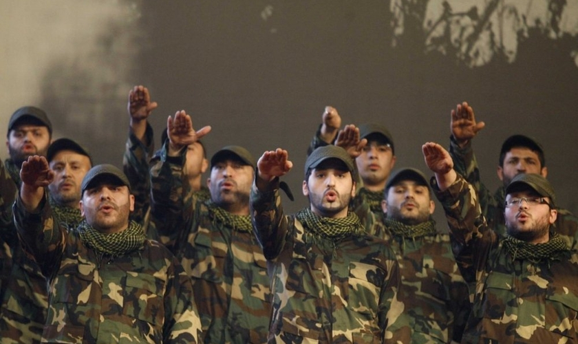 Combatentes do Hezbollah. (Reuters)