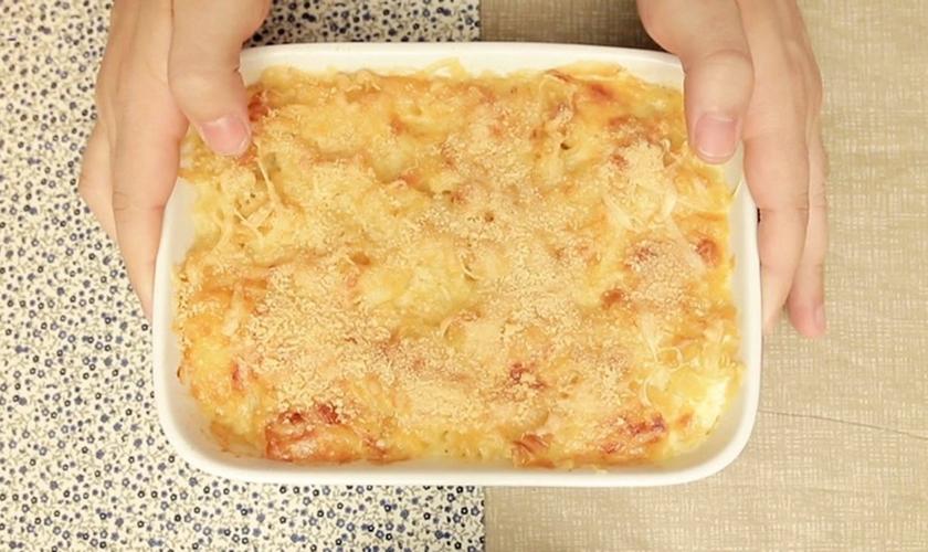 Mac and cheese ao forno