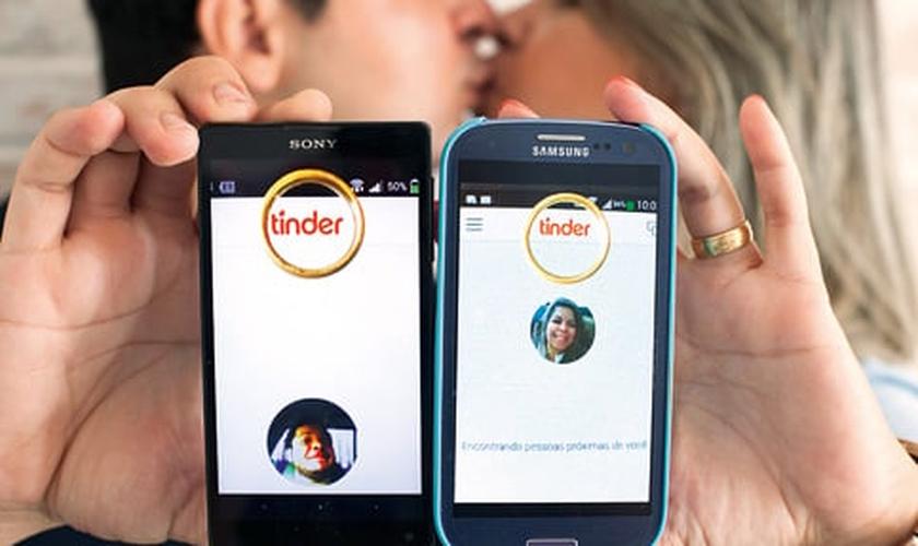 Aplicativo Tinder e Grindr