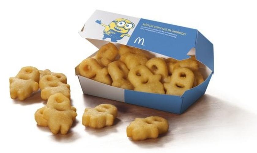 McDonald's lança batatas fritas inspiradas no filme Minions