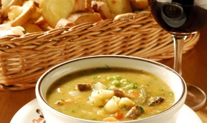 Bufês de sopa