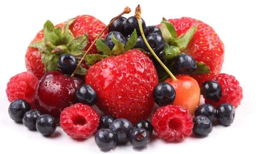 Frutas vermelhas ajudam na produtividade