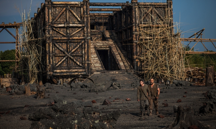 Segundo estudiosos, a Arca de Noé teria capacidade para suportar até 51 milhões de quilos. (Foto: Cenas do filme Noé)