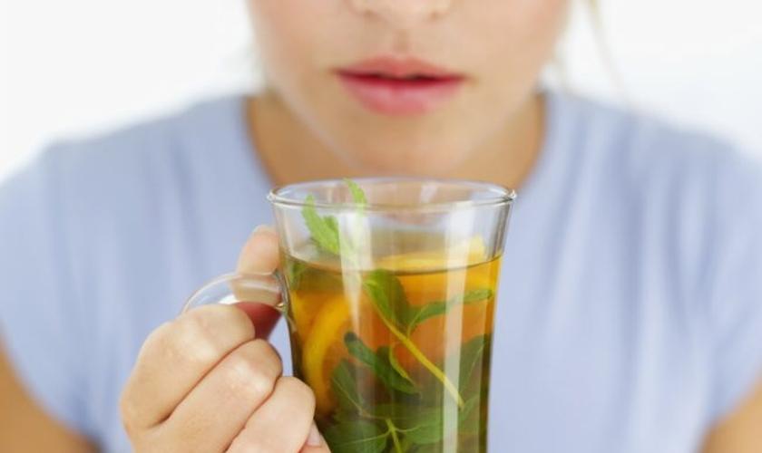 Chá fitoterápicos