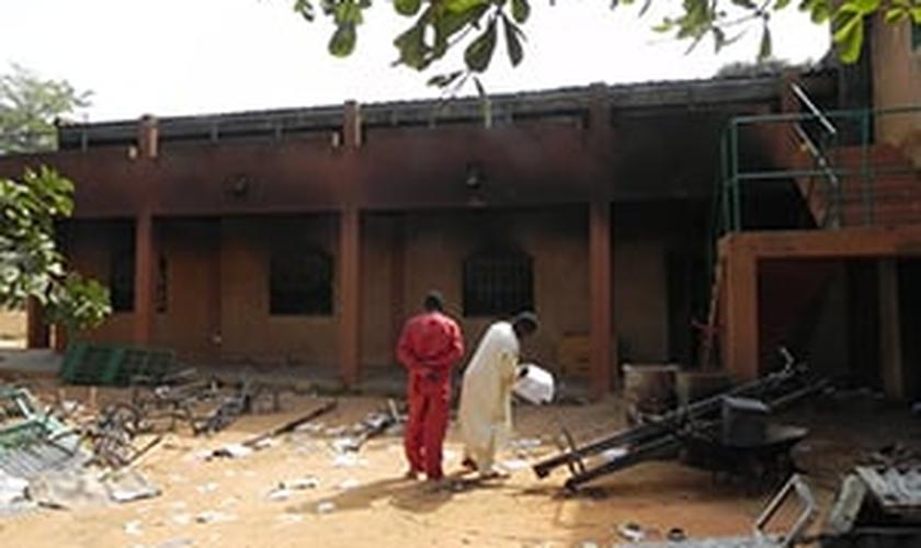Igreja no Níger