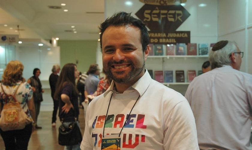 Pérsio Bider, líder da Juventude Judaica Organizada. (Foto: Guiame/ Marcos Paulo Corrêa)