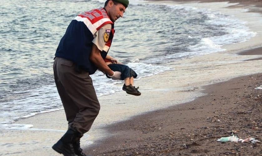 Garoto sírio