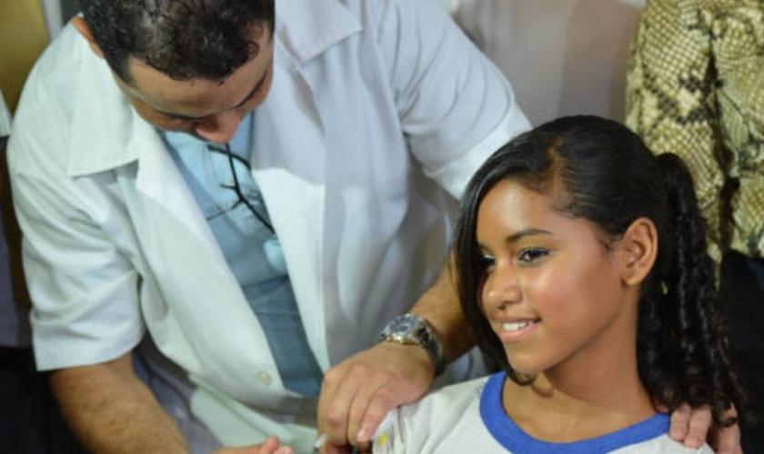 Vacina de prevenção para adolescentes