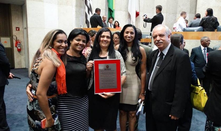 Capelania Prisional da IAP recebe homenagem na Câmara