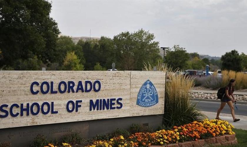 Faixada da Colorado School of Mines. (Foto: CA Sports)