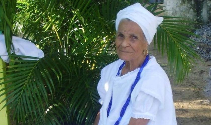 Mildreles Dias Ferreira, que comandava o terreiro de candomblé há 45 anos, morreu no dia 1º de junho, vítima de um infarto. (Foto: Arquivo Pessoal)