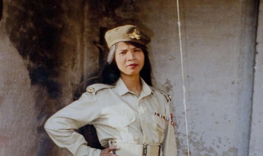 Asia Bibi em foto não datada divulgada pela família. (Foto: AP)
