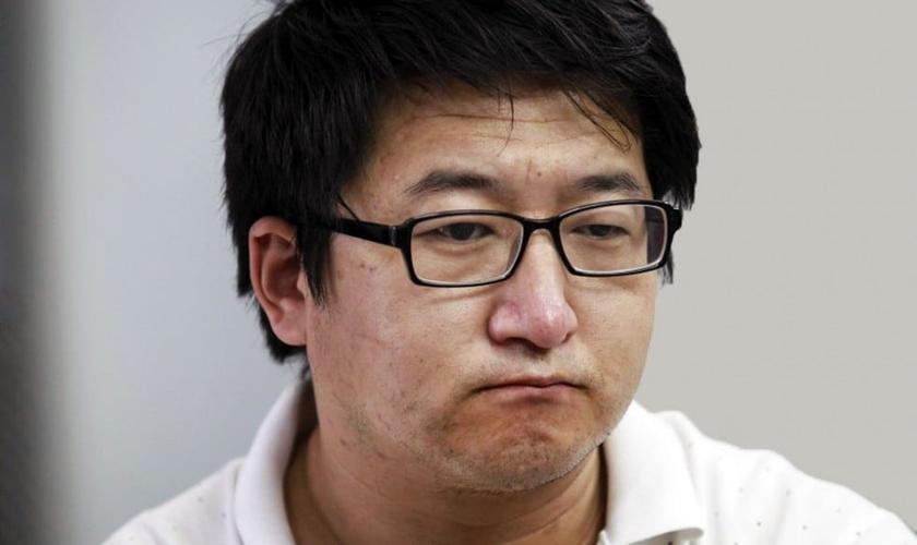 O advogado cristão Christian Zhang Kai foi detido juntamente com outros líderes religiosos em agosto deste ano. (Foto: SCMP)