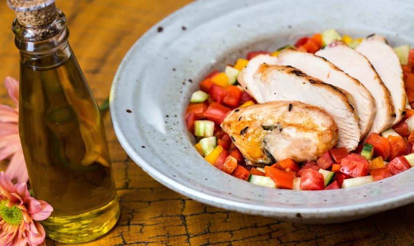 Salada Israelense Deliqate. (Foto: Keiny Andrade)