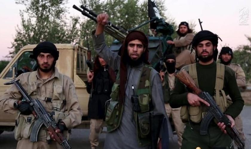 O Estado Islâmico fez novas ameaças em um vídeo publicado nesta segunda-feira. (Foto: Reuters)