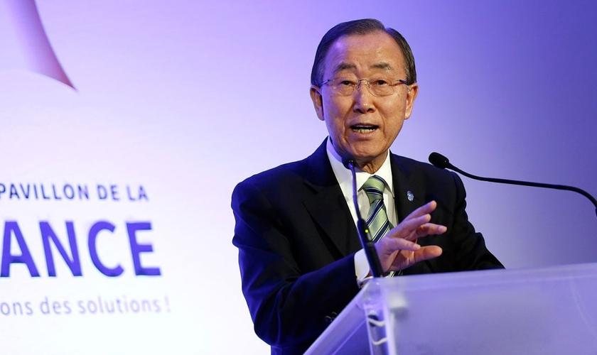 Ban Ki moon na COP21